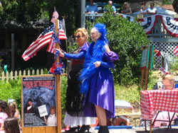 Floozeis in the July 4 parade, 2011